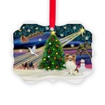 XmasMagic/Papillon Picture Ornament
