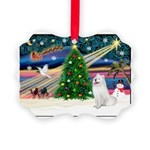 Xmas Magic & Samo Picture Ornament