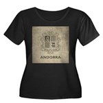 Vintage Andorra Coat Of Arms Women's Plus Size Sco