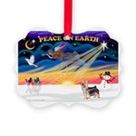 XmasSunrise/ Silky T Picture Ornament