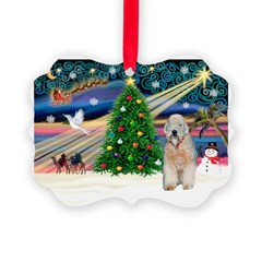 XmasMagic/Wheaten (#5) Ornament