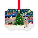 XmasMagic/Wheaten (#5) Picture Ornament