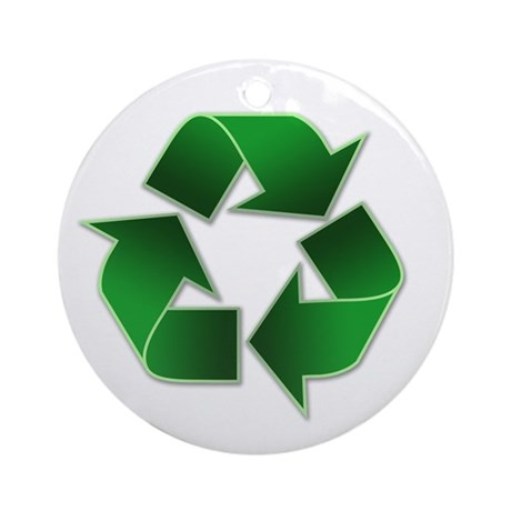 Recycle Congress Ornament (Round)