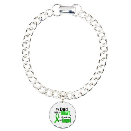 Angel 1 NH Lymphoma Charm Bracelet, One Charm