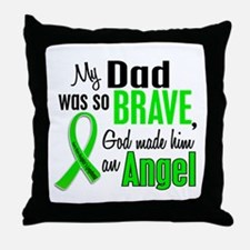 Angel 1 NH Lymphoma Throw Pillow