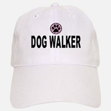 Dog Walker Pink Stripes Cap