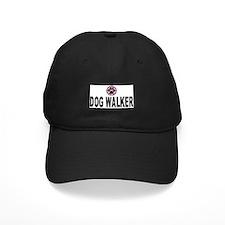 Dog Walker Pink Stripes Baseball Cap