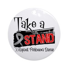 Take a Stand Parkinsons Ornament (Round)