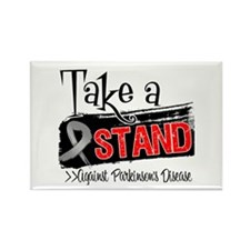 Take a Stand Parkinsons Rectangle Magnet