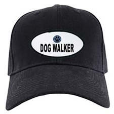 Dog Walker Blue Stripes Baseball Cap