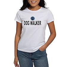 Dog Walker Blue Stripes Tee