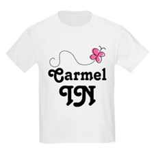 Carmel Indiana Butterfly T-Shirt