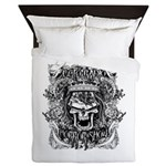 Ecto Radio Horror Show Queen Duvet