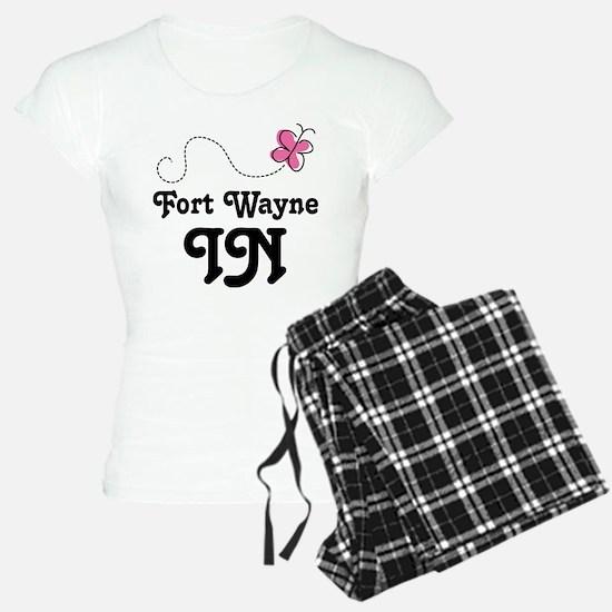 Fort Wayne Indiana Butterfly Pajamas