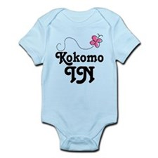 Kokomo Indiana Butterfly Infant Bodysuit