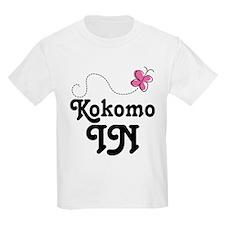 Kokomo Indiana Butterfly T-Shirt