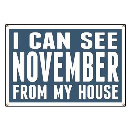I Can See November... Banner