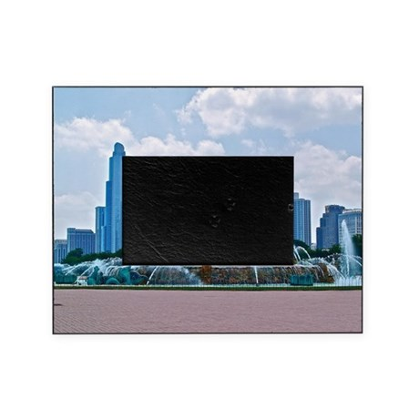 Fountain in Grant Park Chicago Picture Frame