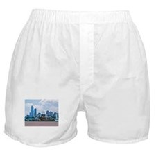 Fountain in Grant Park Chicago Boxer Shorts