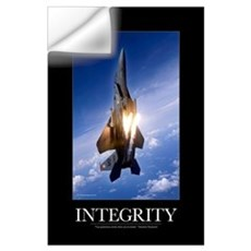 Military Motivational Poster: Integrity Wall Decal