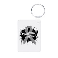 Fighting Back Parkinsons Keychains