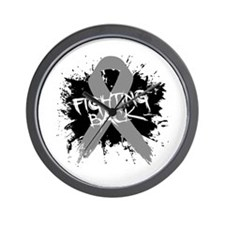 Fighting Back Parkinsons Wall Clock