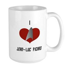 I Love Jean-Luc Picard Mug