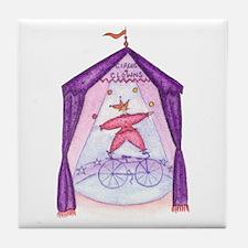 Circus juggler - Tile Coaster