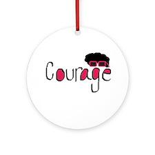 Courage Ornament (Round)