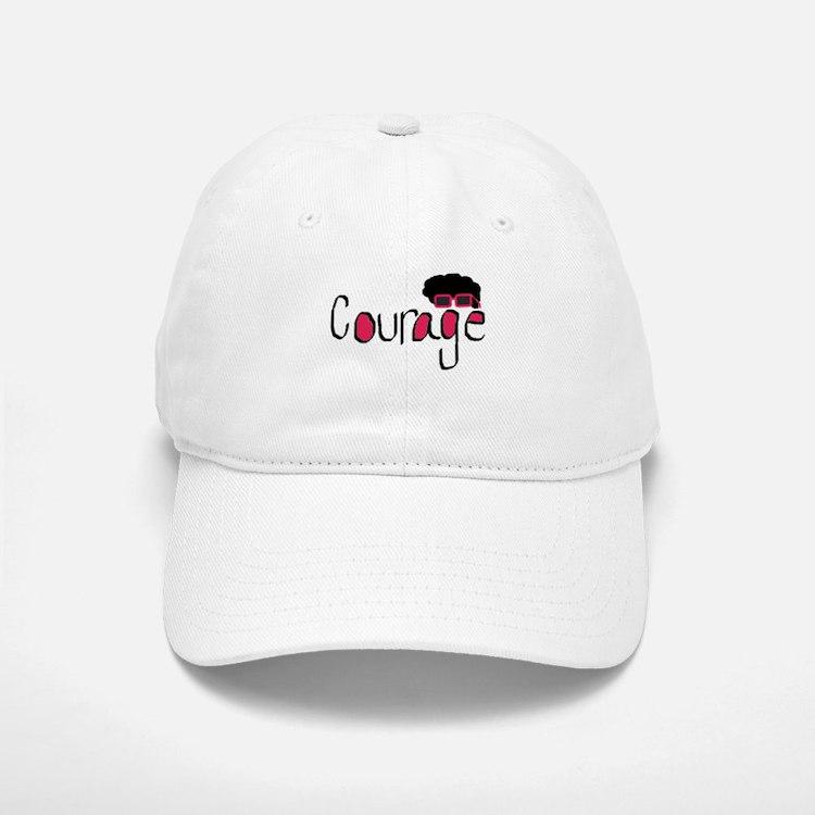Courage Baseball Baseball Cap