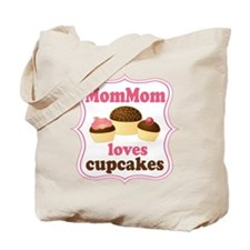 MomMom Cupcakes Tote Bag