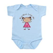 MomMom Loves Me Infant Bodysuit