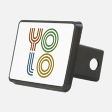 Retro YOLO-You Only Live Once Hitch Cover