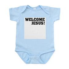 Welcome Jesus Infant Creeper