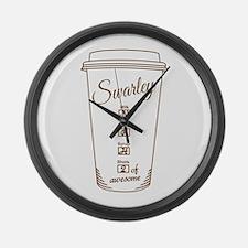 Swarley Large Wall Clock