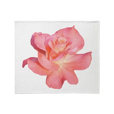 Flower / Rose Throw Blanket