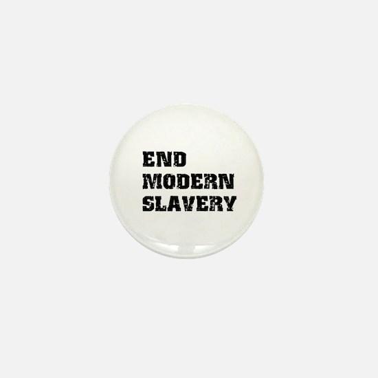 End Modern Slavery Mini Button