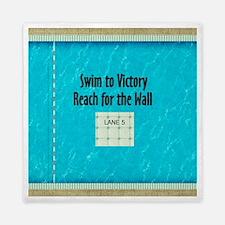 Swim Slogan Queen Duvet