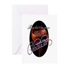 Misery Loves Chocolate Greeting Cards (Package of