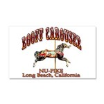 Loof Carousel on the Pike Car Magnet 20 x 12