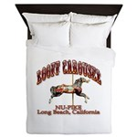Loof Carousel on the Pike Queen Duvet