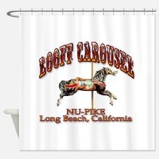 Loof Carousel on the Pike Shower Curtain