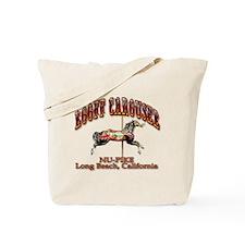 Loof Carousel on the Pike Tote Bag