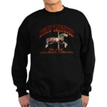 Loof Carousel on the Pike Sweatshirt (dark)