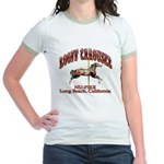 Loof Carousel on the Pike Jr. Ringer T-Shirt