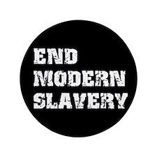 "End Modern Slavery 3.5"" Button (100 pack)"