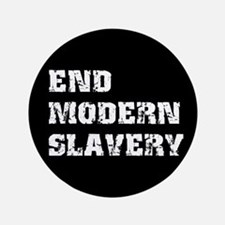 "End Modern Slavery 3.5"" Button"