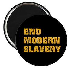 "End Modern Slavery 2.25"" Magnet (100 pack)"