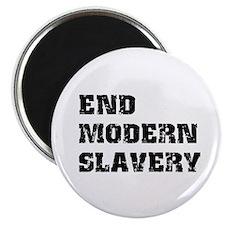 "End Modern Slavery 2.25"" Magnet (10 pack)"
