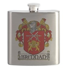 Brennan Coat of Arms Flask